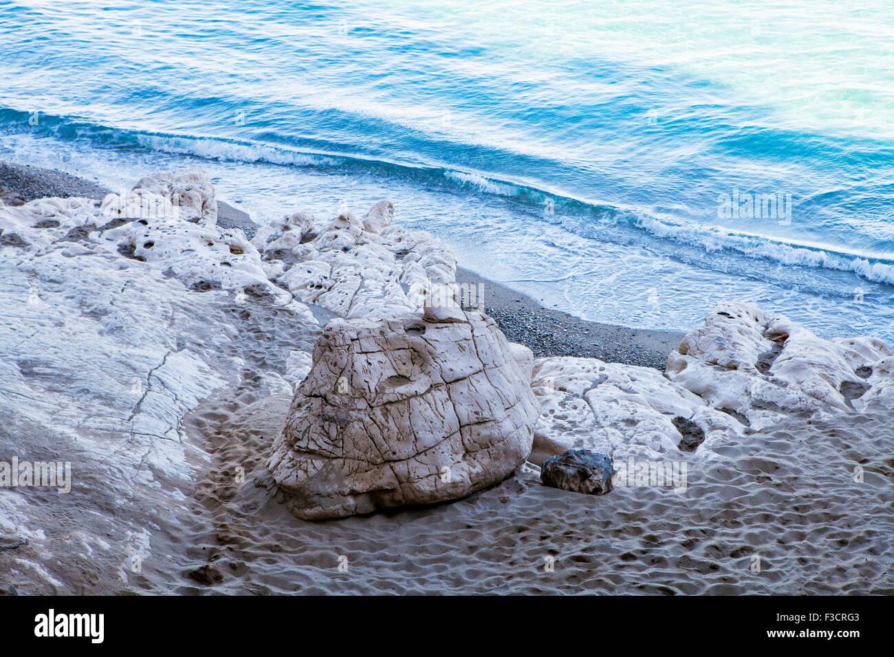 Cala Luna in Sardinia, Italy - Stock Image