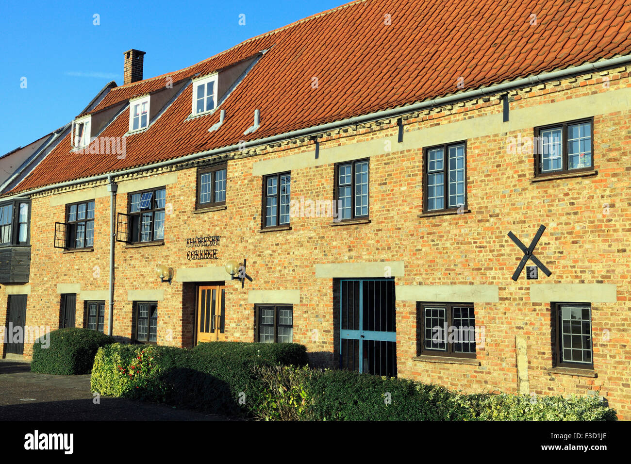 Thoresby College, medieval collegiate preserved building, Kings Lynn Norfolk England UK - Stock Image