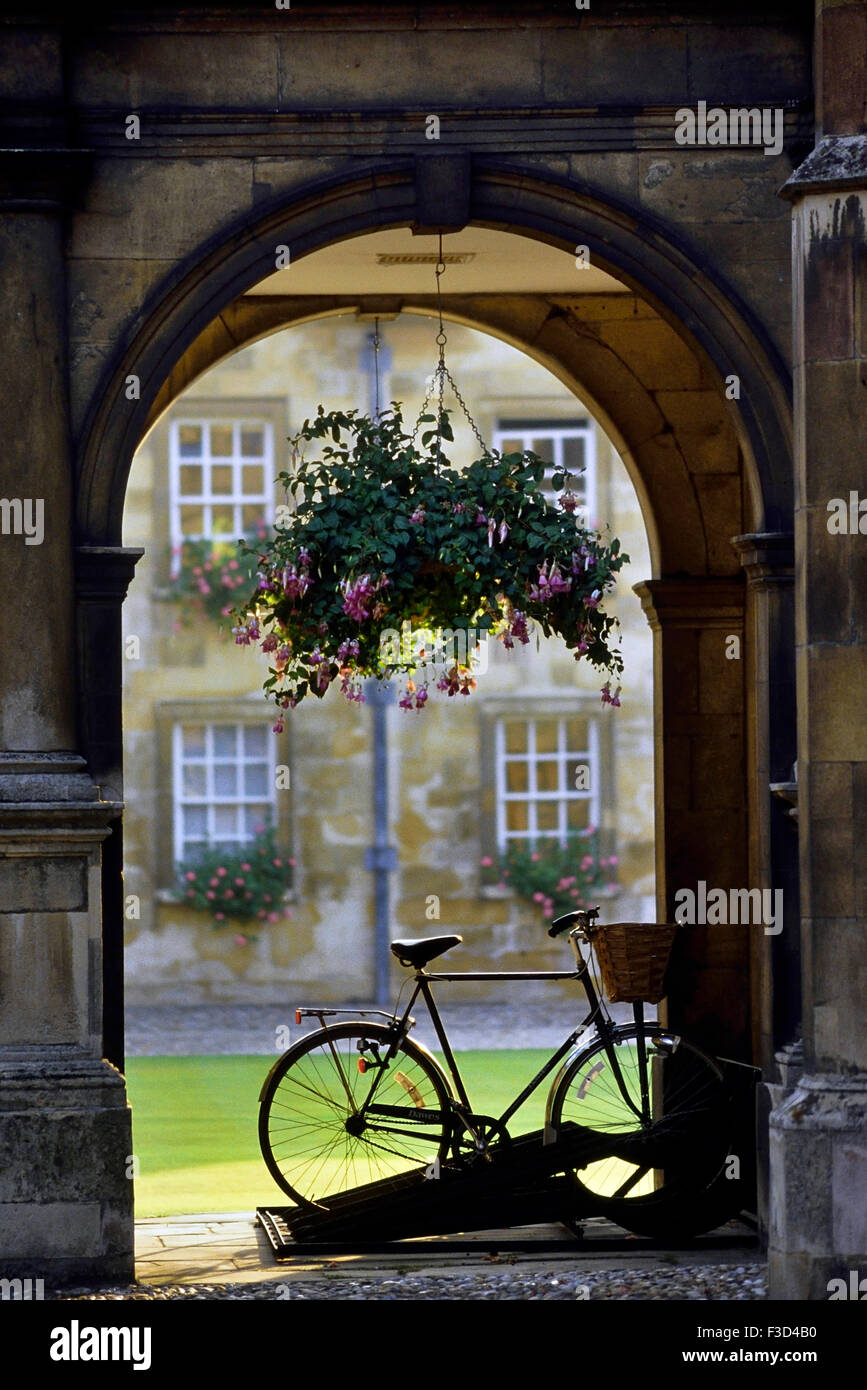 Peterhouse College. Cambridge. England. UK - Stock Image