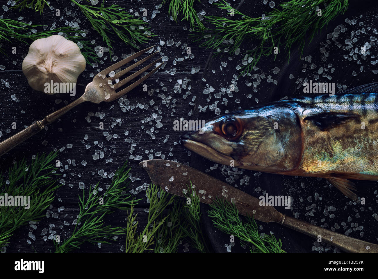 Mackerel - Stock Image
