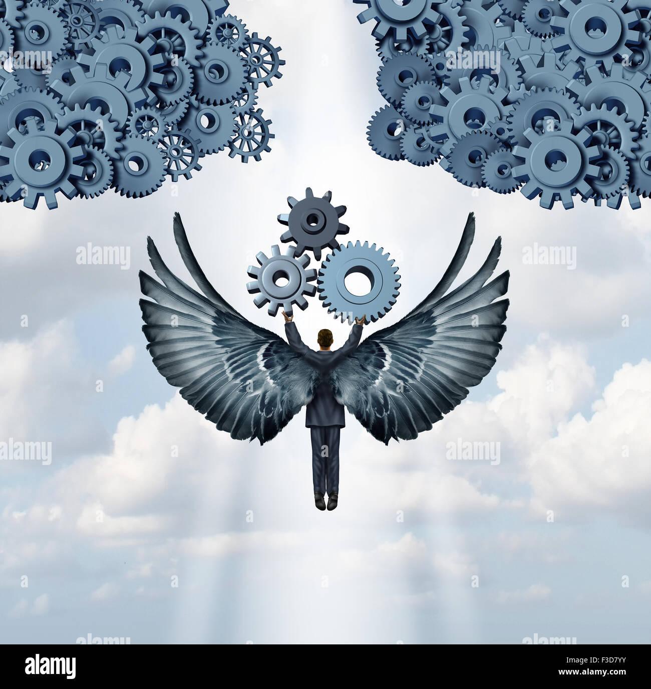 Business Angel Investor Concept And Entrepreneur Venture Capitalist