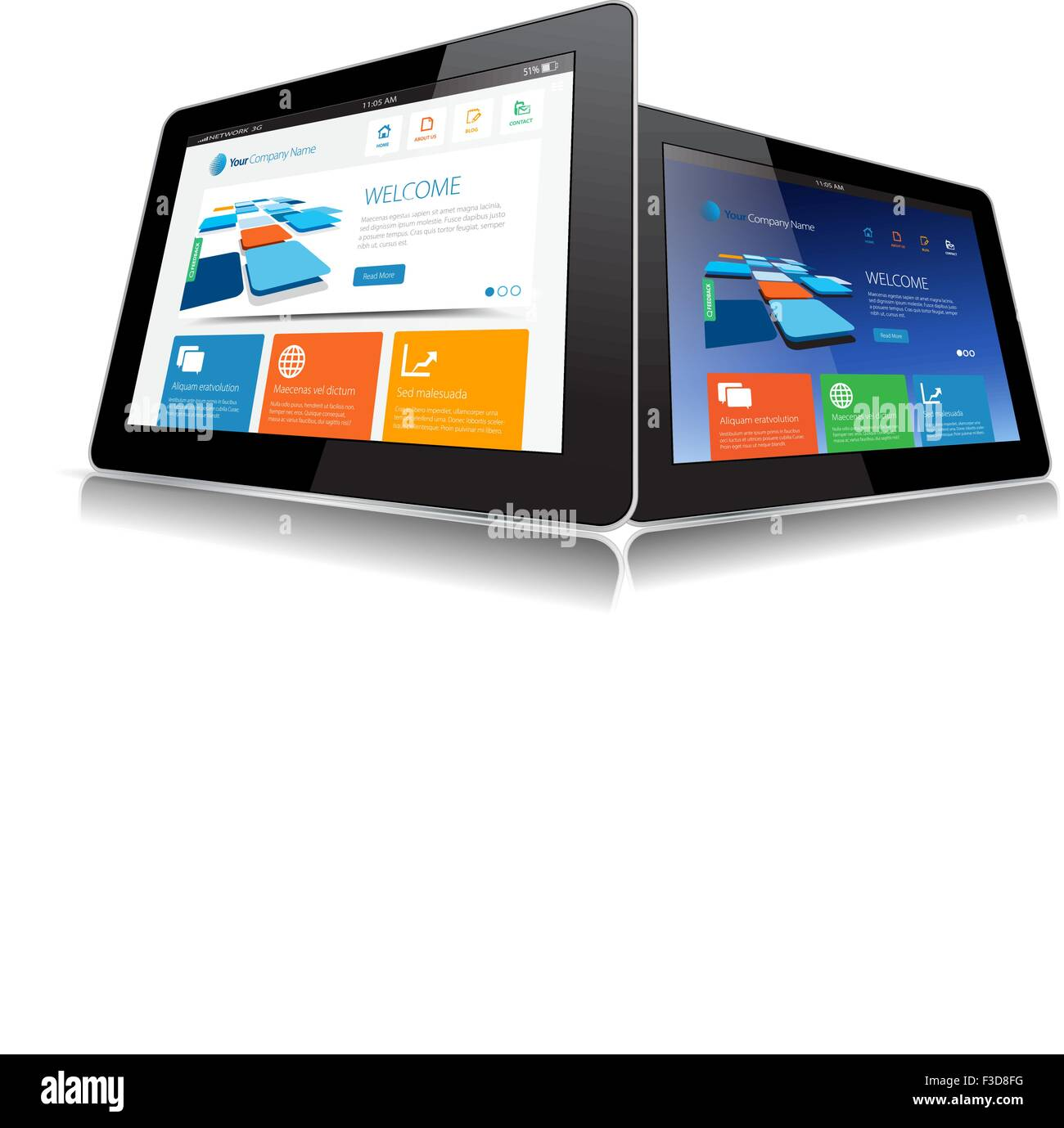 Tablet, Vector, Web page, Icon, Internet, Web, Search - Stock Image