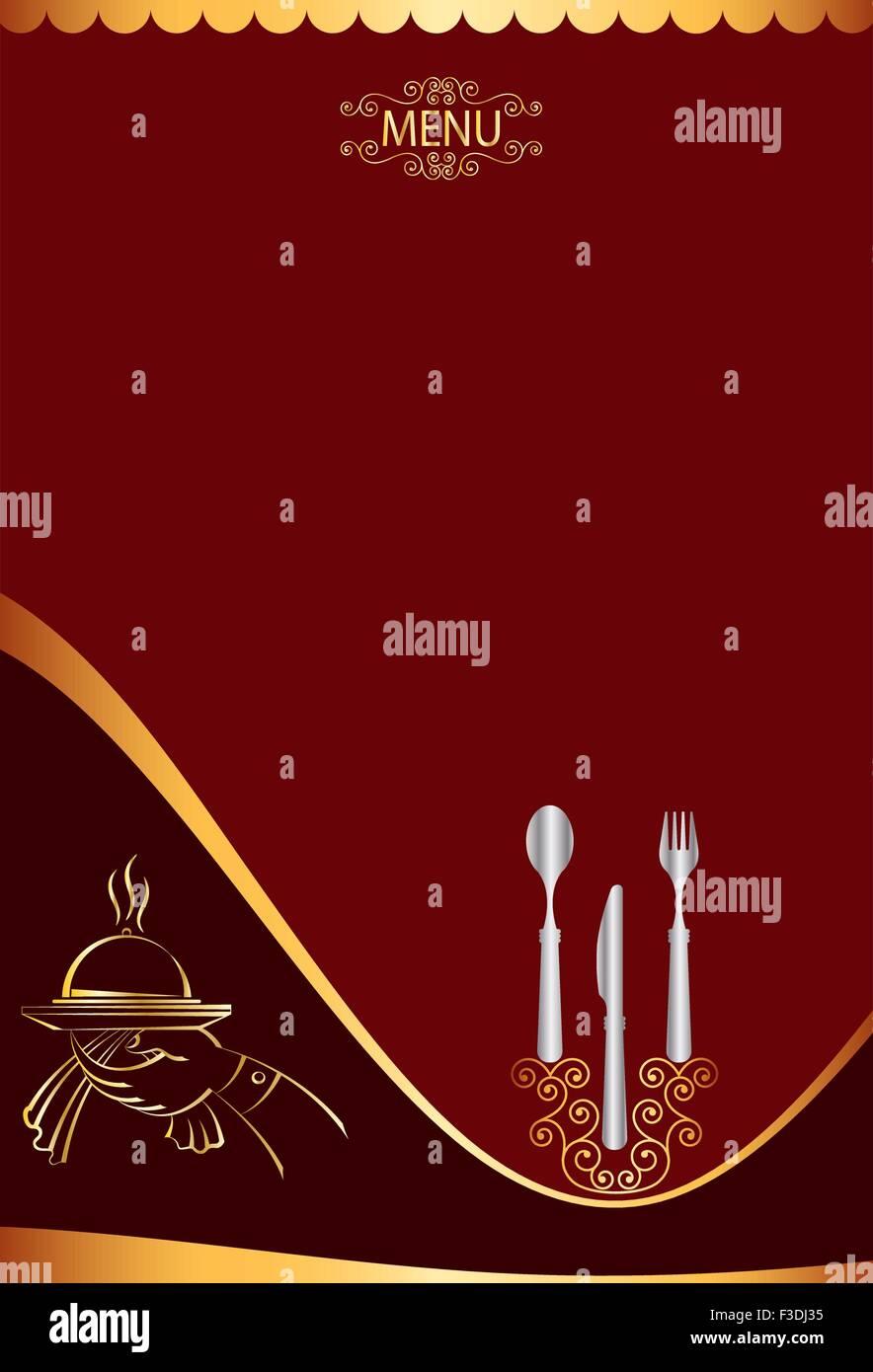 Menu Card Design Template Vector Art Stock Vector Art