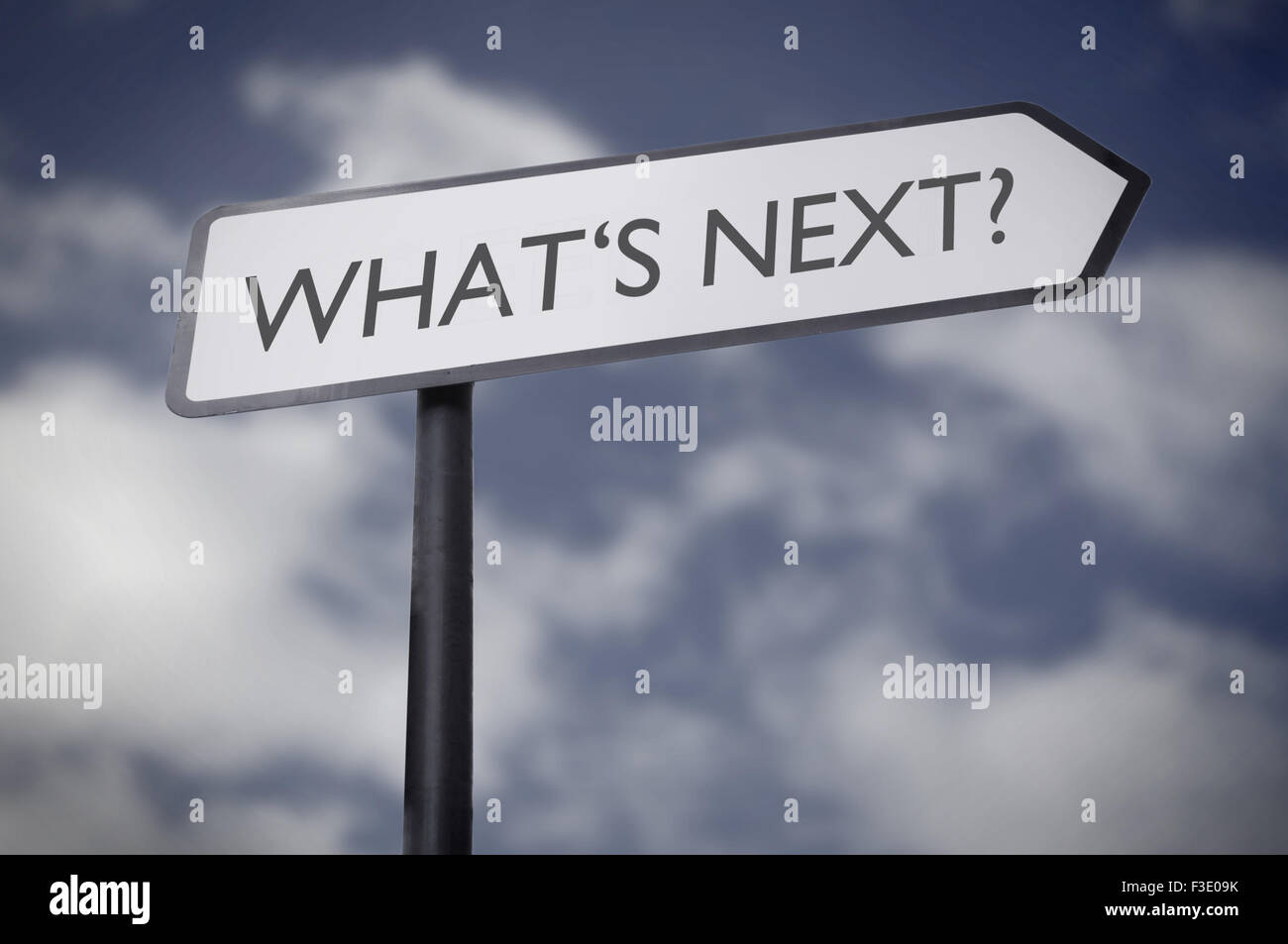 What's next - Stock Image