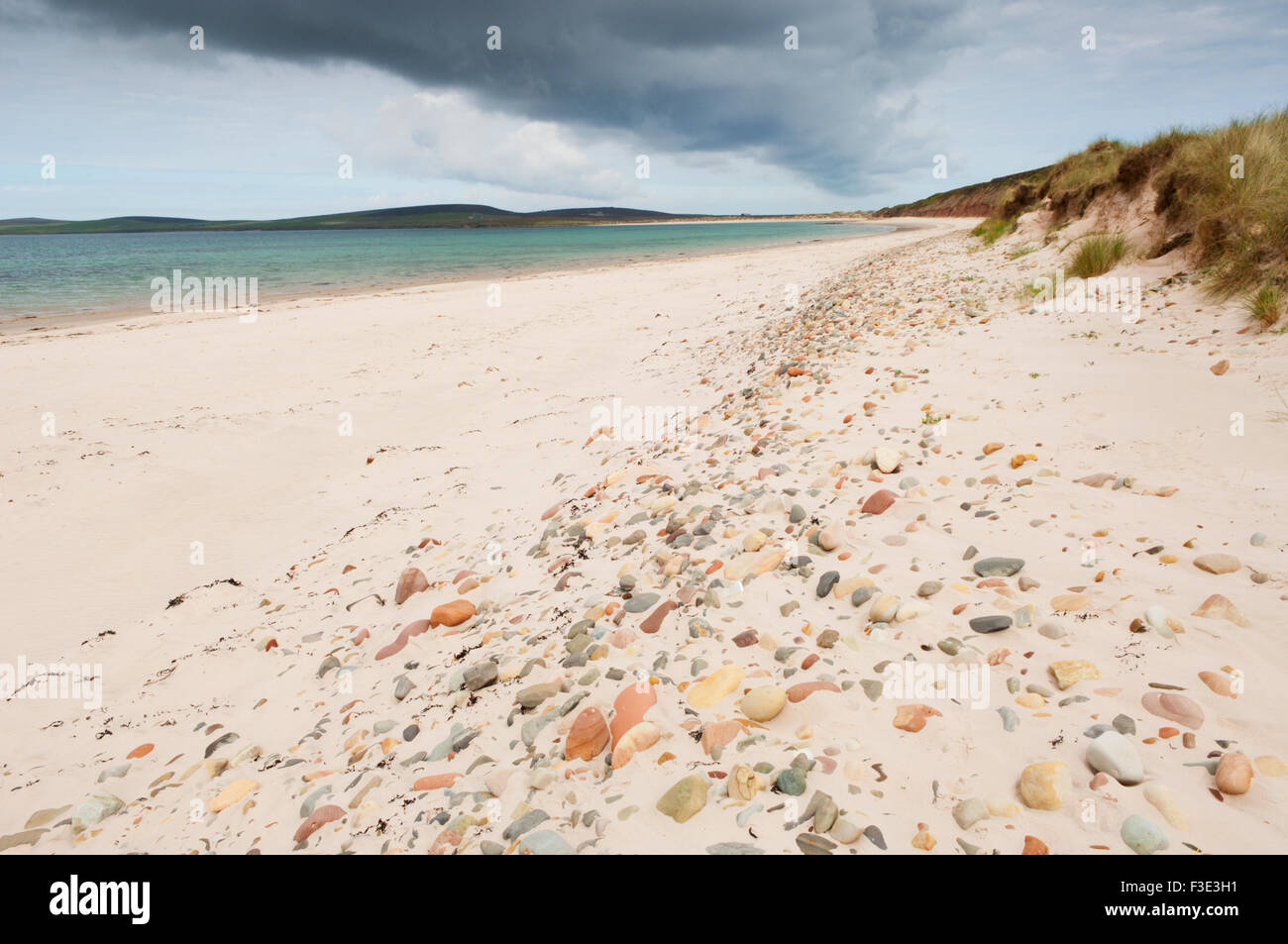 The Sands of Mussetter on the island of Eday, Orkney Islands, Scotland. Stock Photo