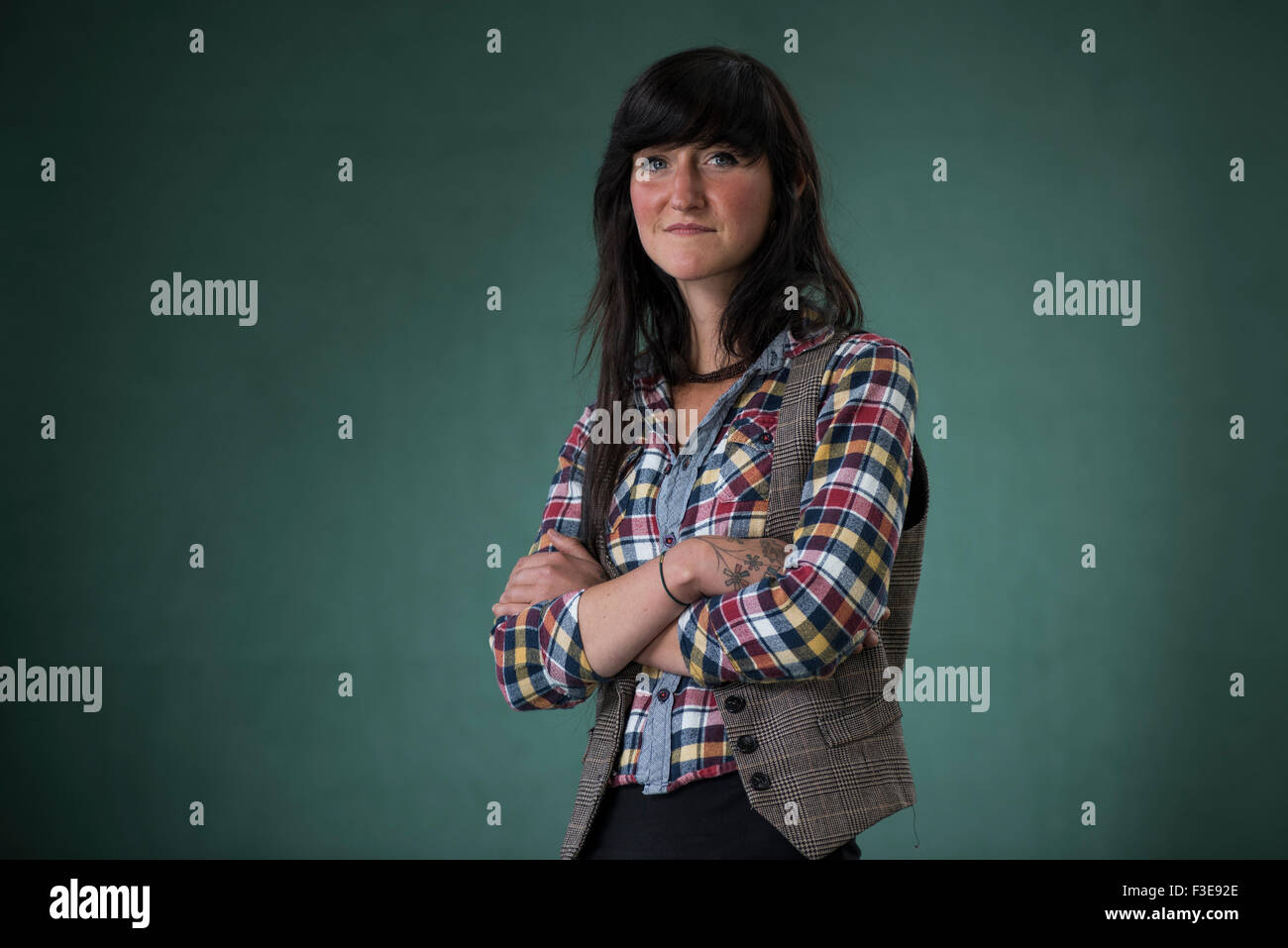 Irish writer Sara Baume. - Stock Image