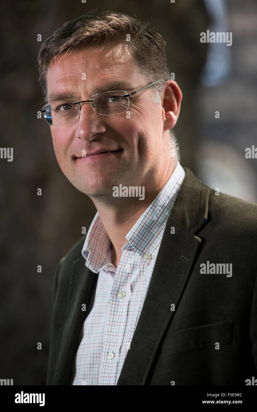 Founder and chief executive of the hunger charity Mary's Meals, Magnus MacFarlane-Barrow. - Stock Image