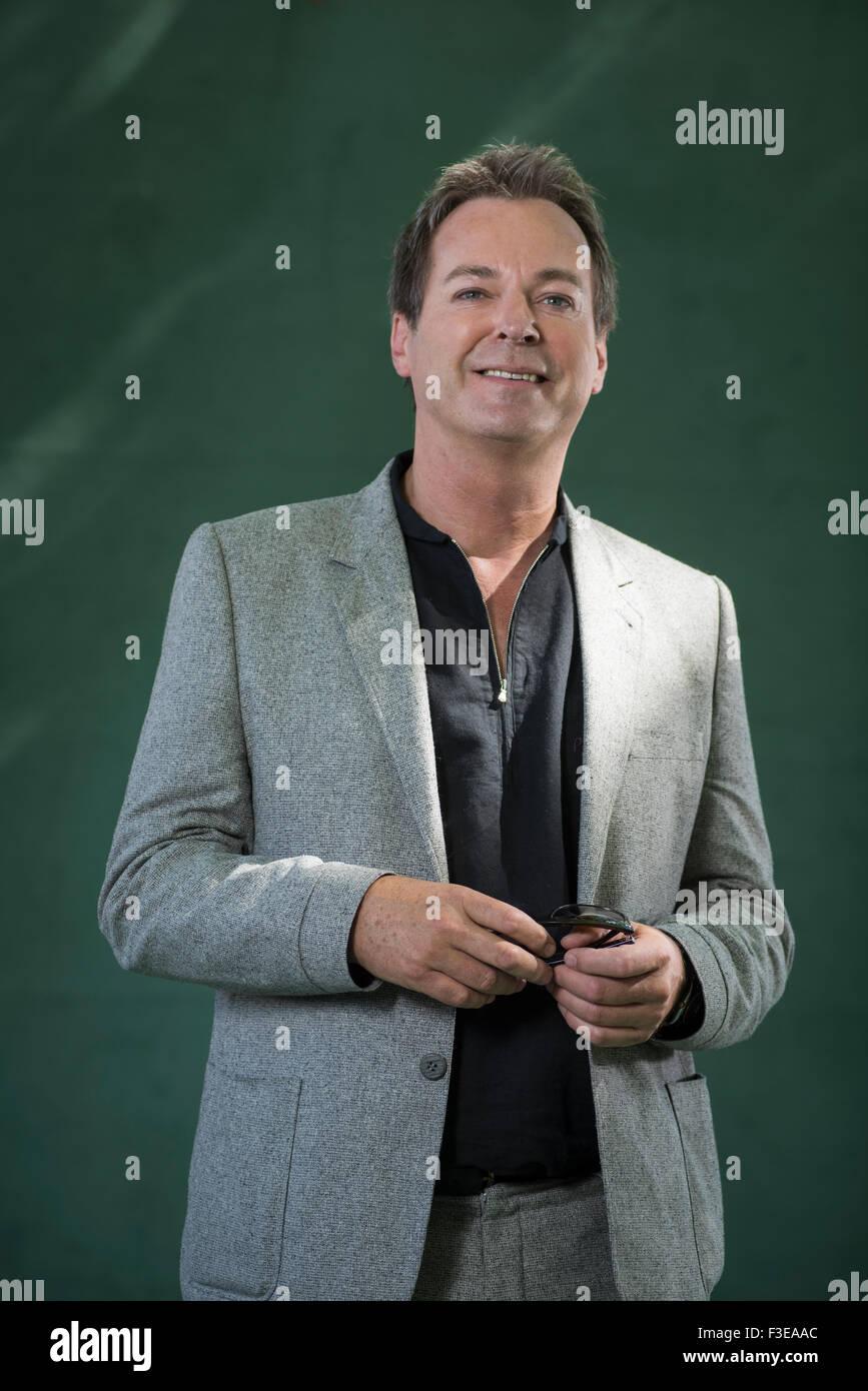 English comedian and novelist Julian Clary. - Stock Image