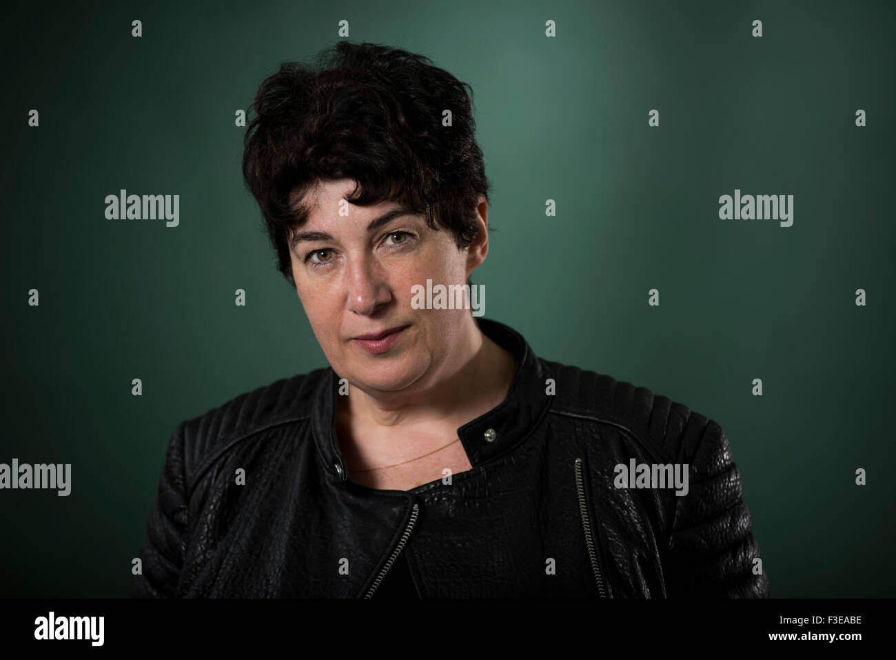 English author of the award-winning novel Chocolat, Joanne Harris. - Stock Image