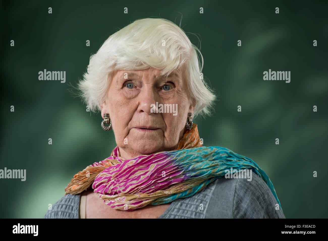 English writer of children's and adult fiction, Jane Gardam OBE FRSL. - Stock Image