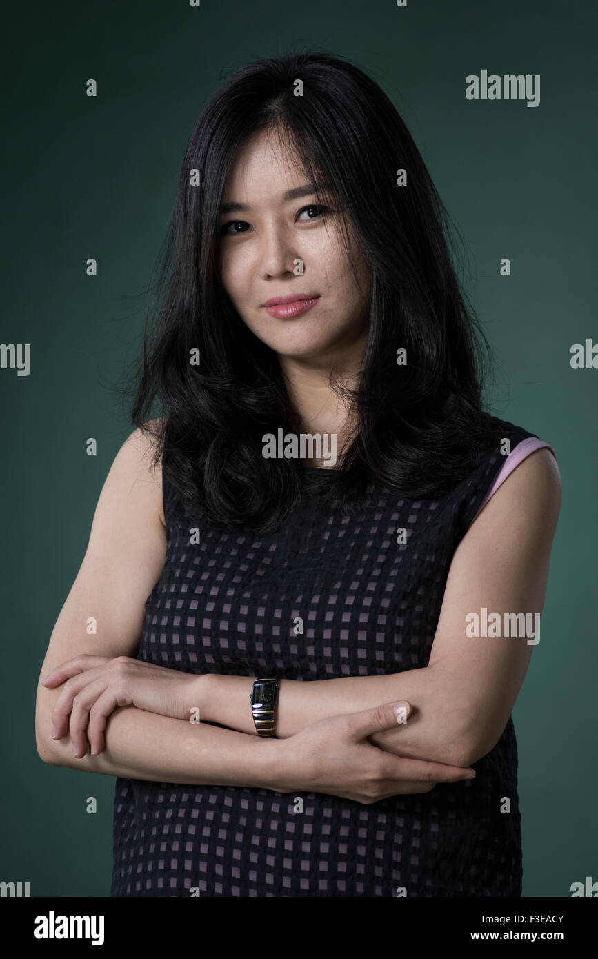 North Korean defector and activist Hyeonseo Lee. - Stock Image