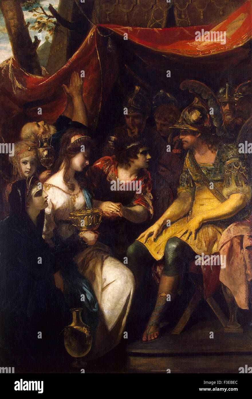 Sir Joshua Reynolds - Continence of Scipio - Stock Image