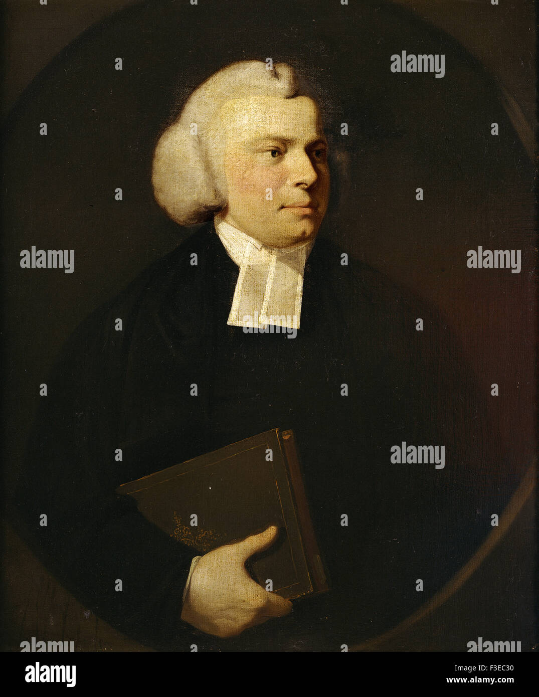 Sir Joshua Reynolds - Portrait of a Clergyman - Stock Image