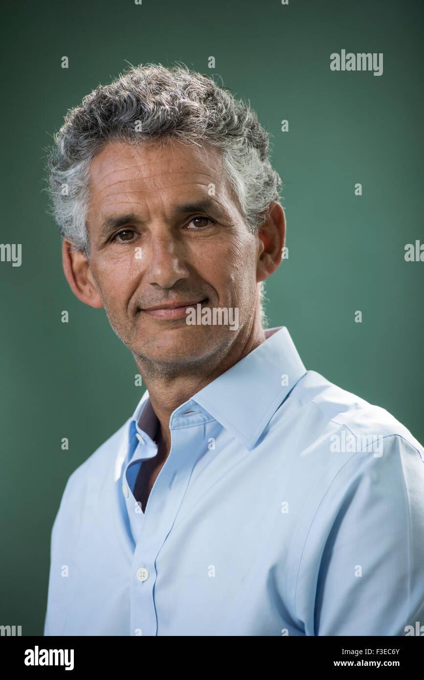Professor of Genetic Epidemiology Tim Spector. - Stock Image