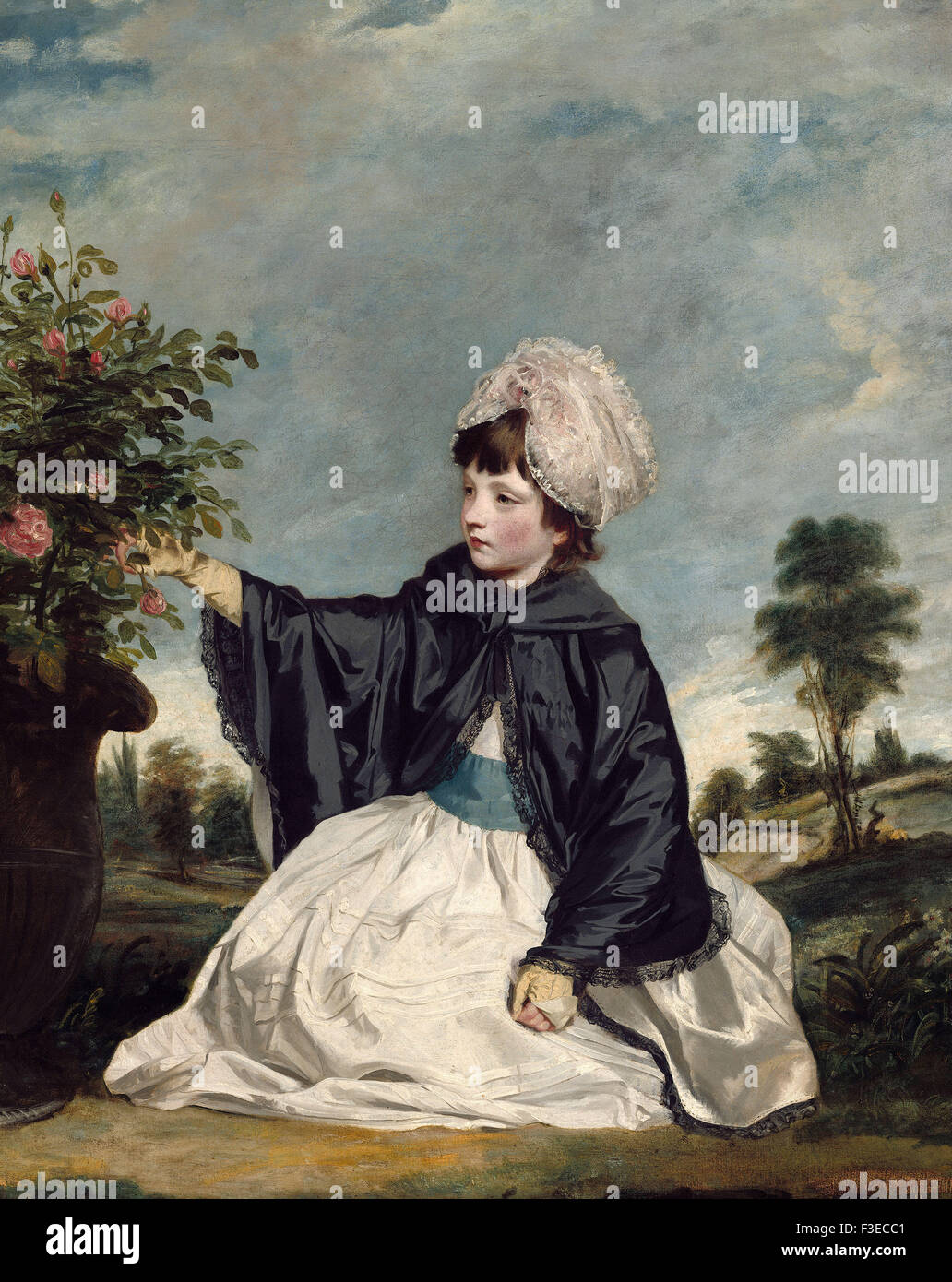 Sir Joshua Reynolds - Lady Caroline Howard - Stock Image