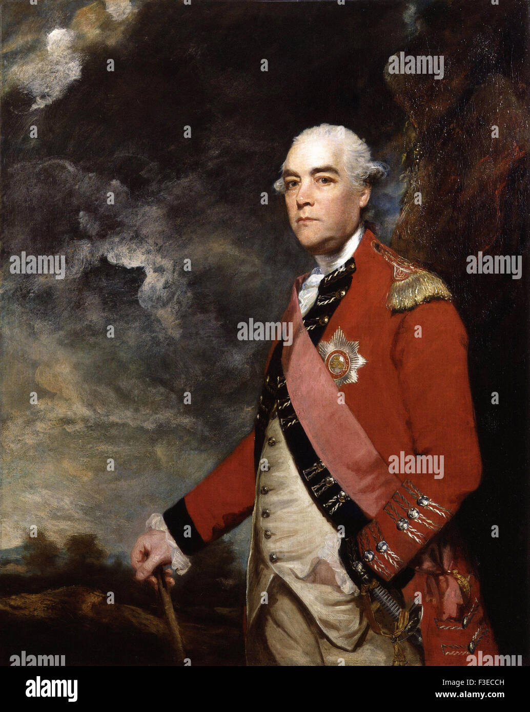 Sir Joshua Reynolds - Sir William Fawcett - Stock Image