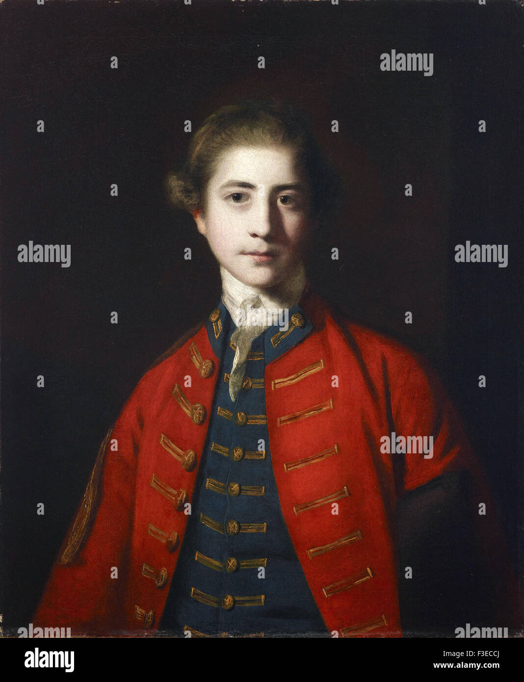 Sir Joshua Reynolds - Stephen Croft, Junior - Stock Image