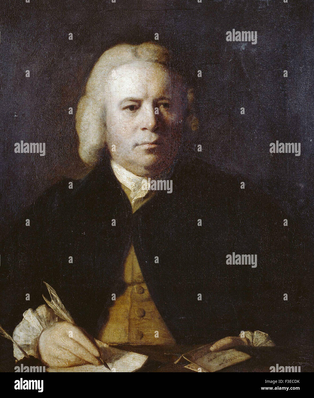 Sir Joshua Reynolds - Robert Dodsley - Stock Image
