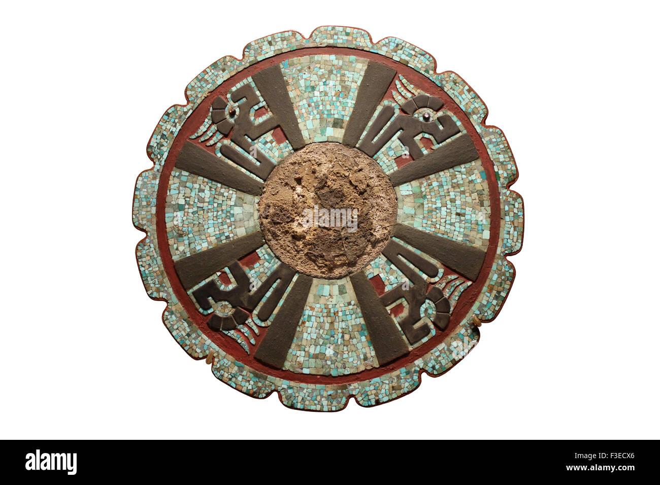 Disc From Chichen Itza, Yucutan, Mexico - Stock Image
