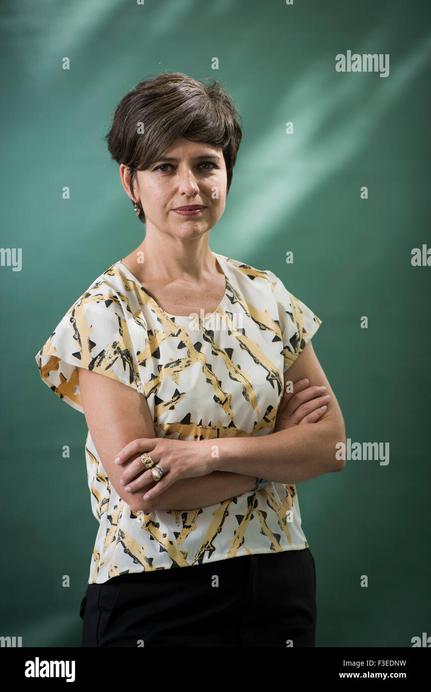 Mexican Poet, translator, and scholar Monica de la Torre. - Stock Image
