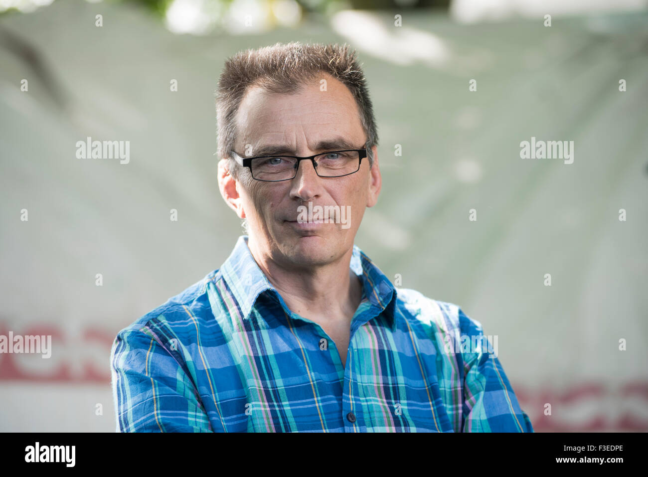 Cinematographer, Film-maker, speaker and adventurer Keith Partridge. - Stock Image