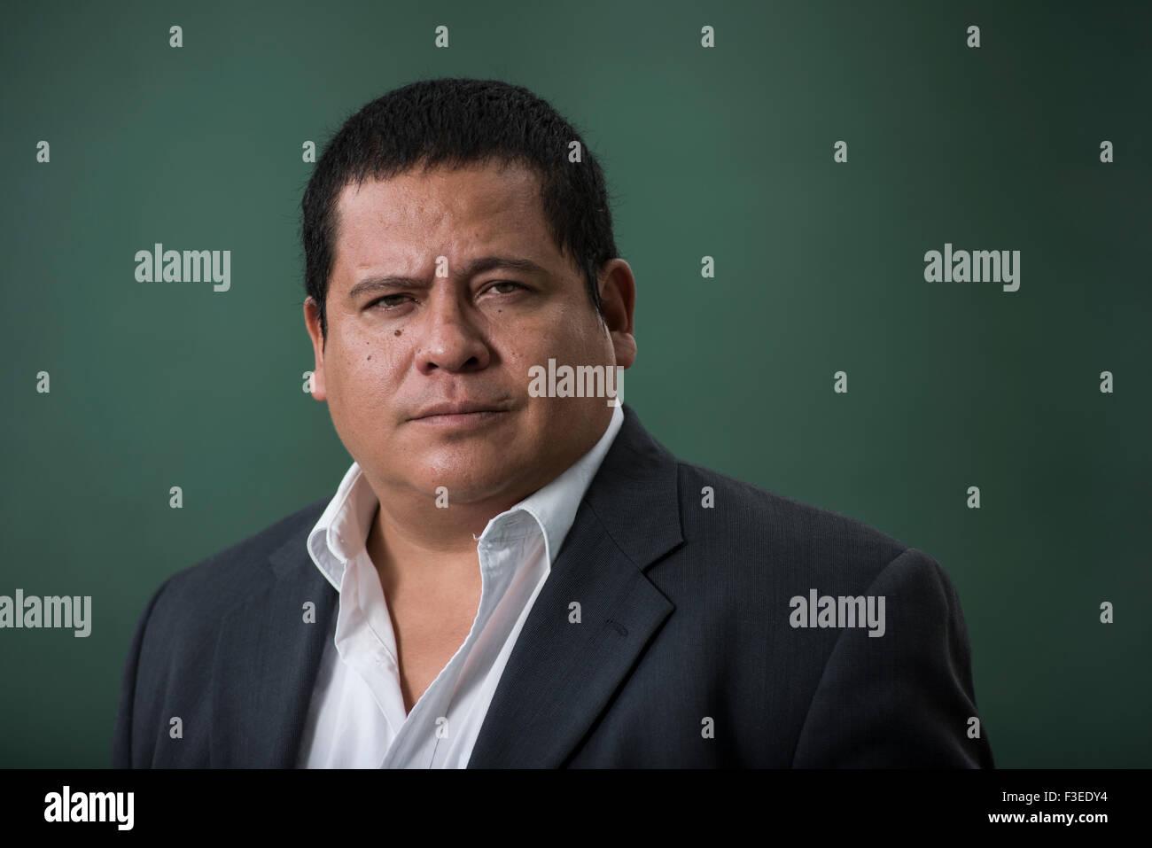 Mexican author Julian Herbert. - Stock Image