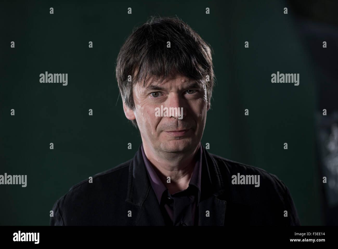 Scottish crime writer Ian Rankin, OBE, DL, FRSE. - Stock Image