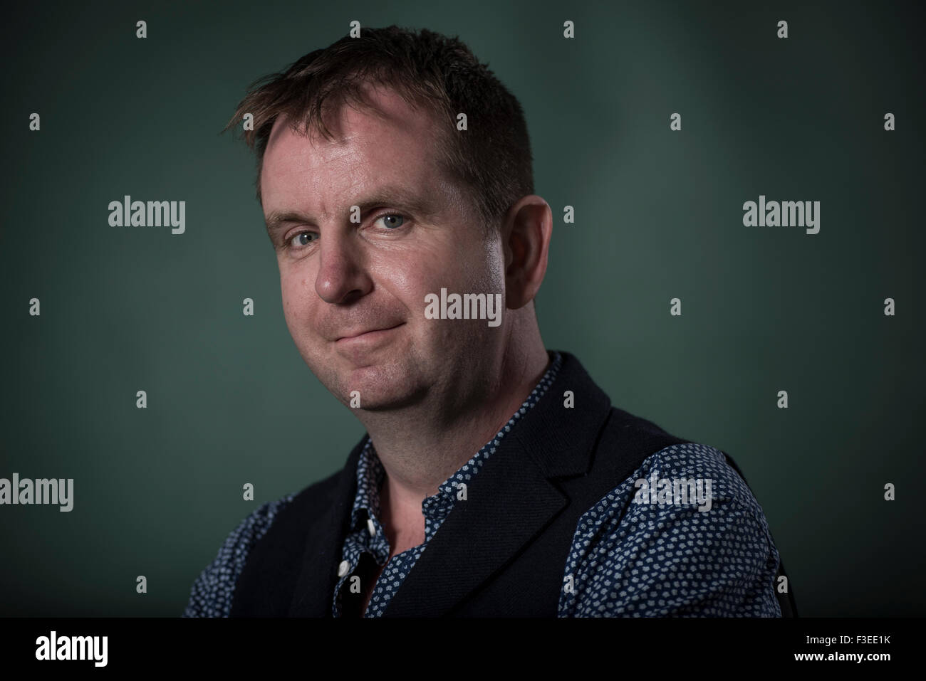 Author Iain Overton. - Stock Image