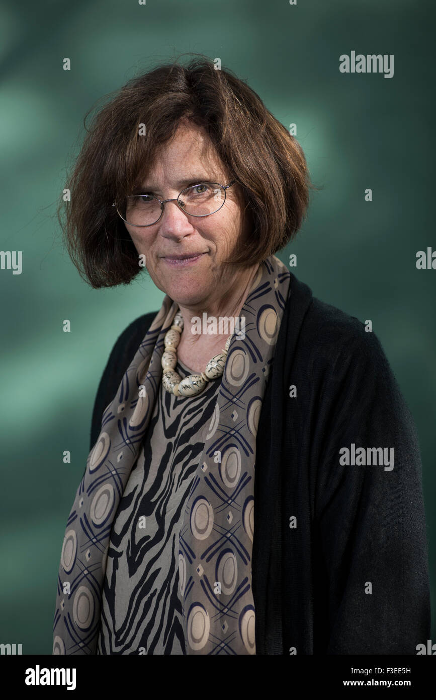 Professor and President of Wolfson College in Oxford, Hermione Lee. - Stock Image