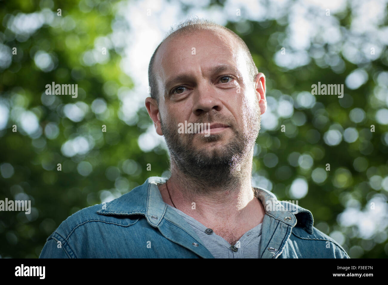 Head of media at Greenpeace Ben Stewart. - Stock Image
