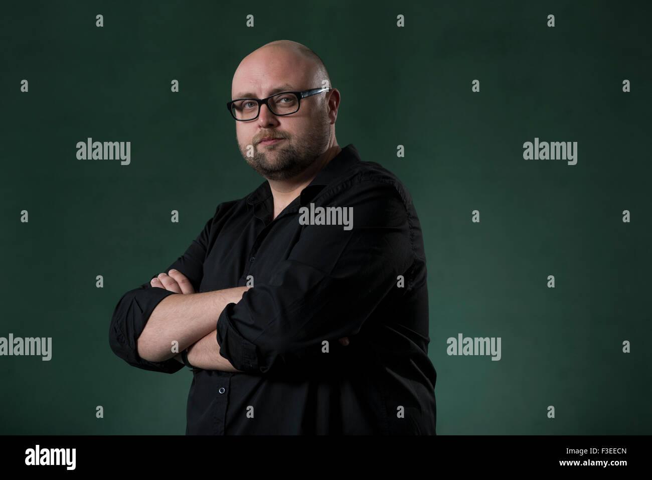 Author Steve Cavangagh. - Stock Image