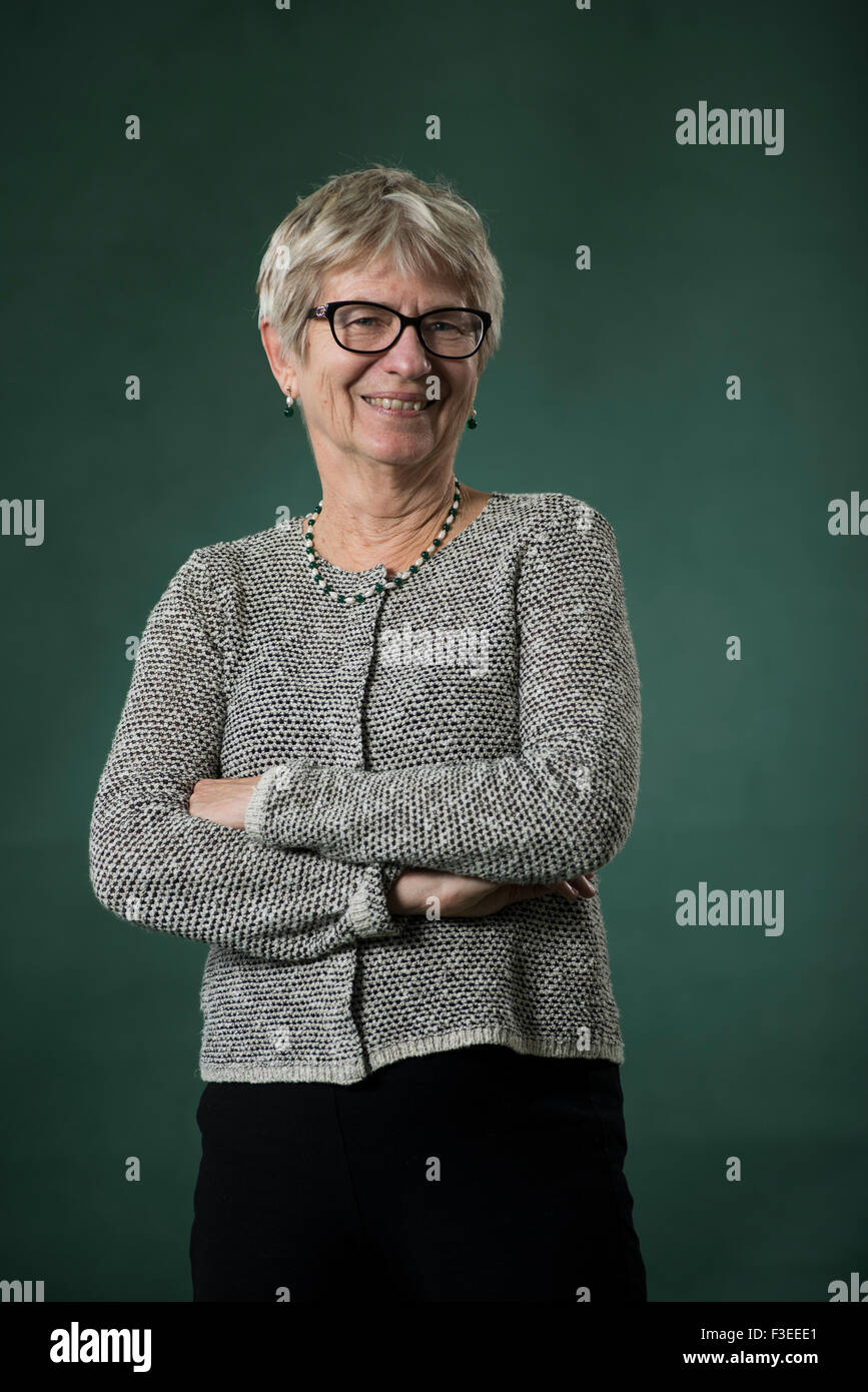 Editor Penny Johnson. - Stock Image