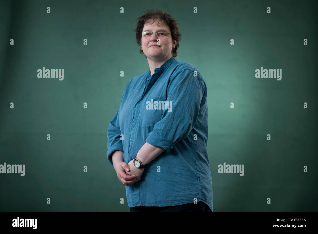 Professor of Forensic Science Niamh Nic Daed. - Stock Image