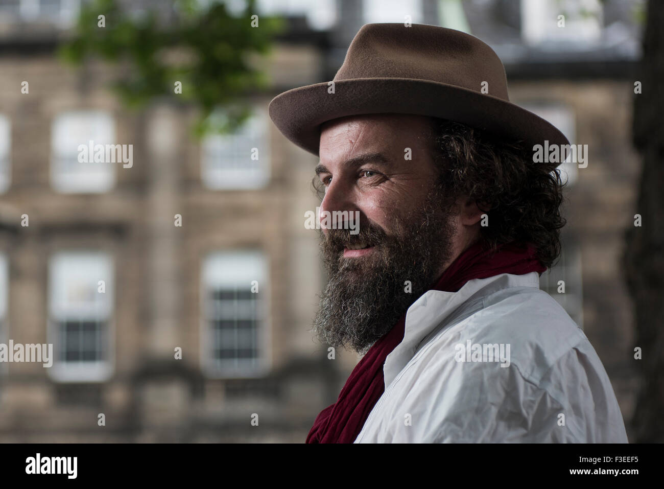 Author and storyteller Martin Shaw. - Stock Image