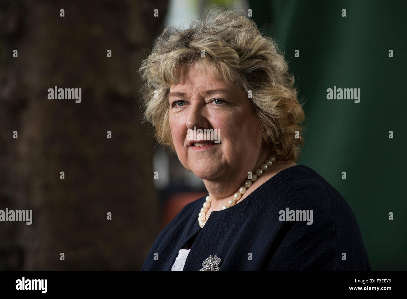 Professor at the University of Stirling, June Andrews. - Stock Image