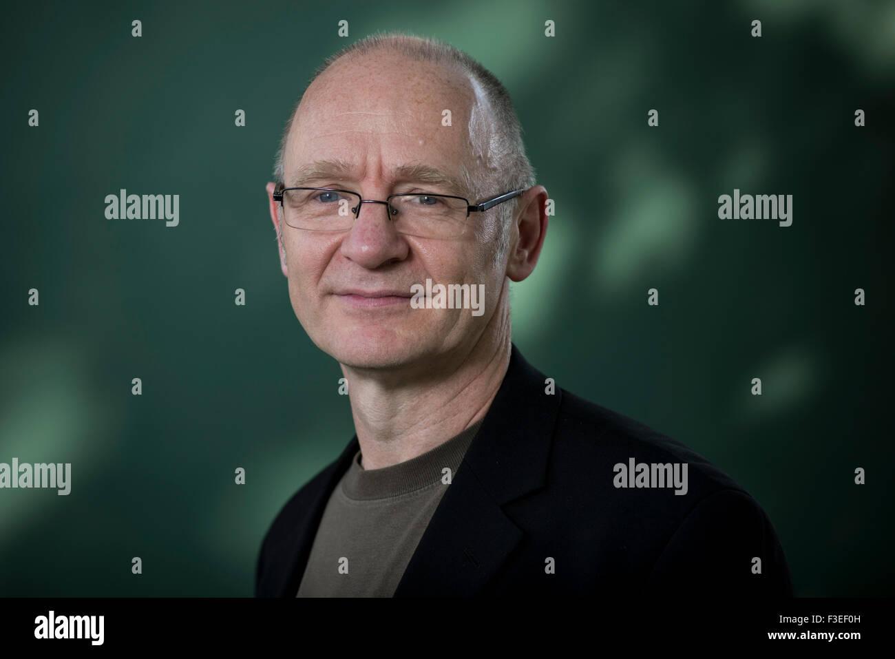 Scottish writer James Robertson. Stock Photo