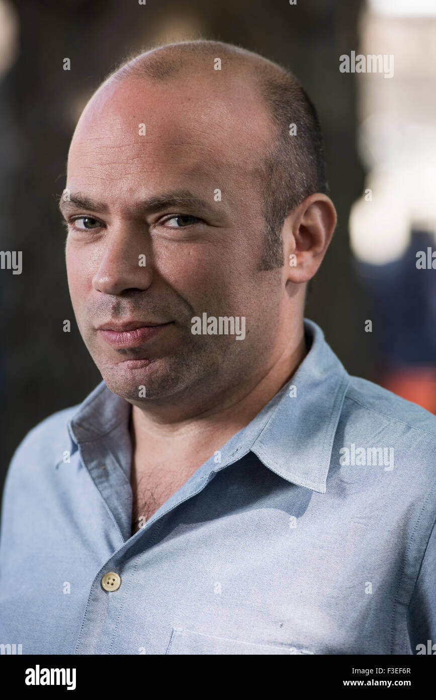 British journalist and author A D Miller Stock Photo