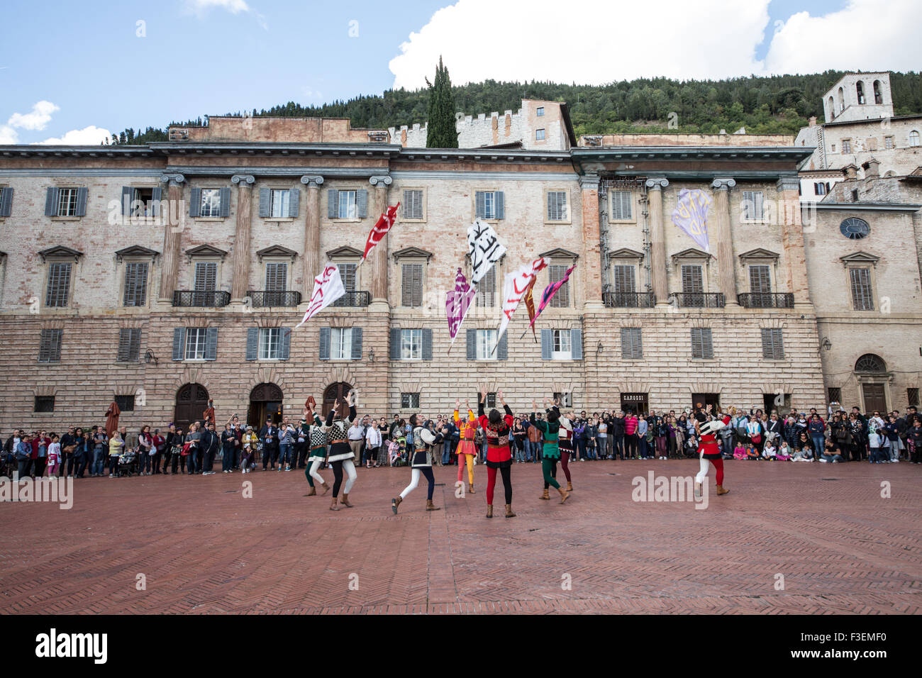 Festival del Medioevo, Gubbio - Stock Image
