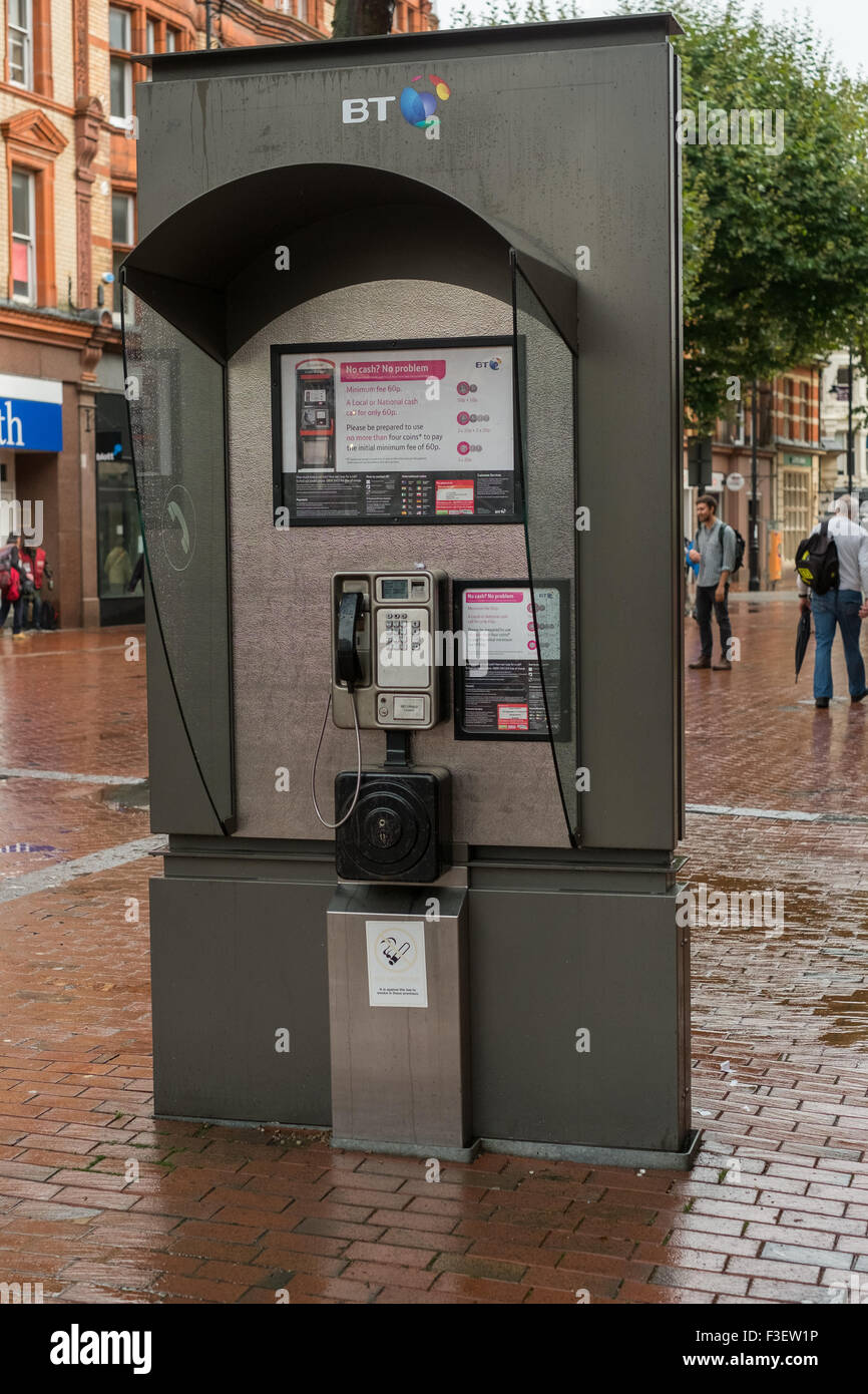 New Style BT telephone box in Reading Berkshire - Stock Image