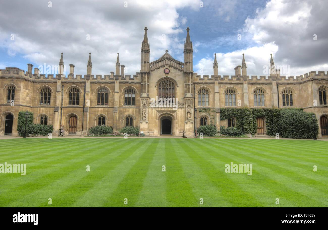 Corpus Christi College Cambridge - Stock Image