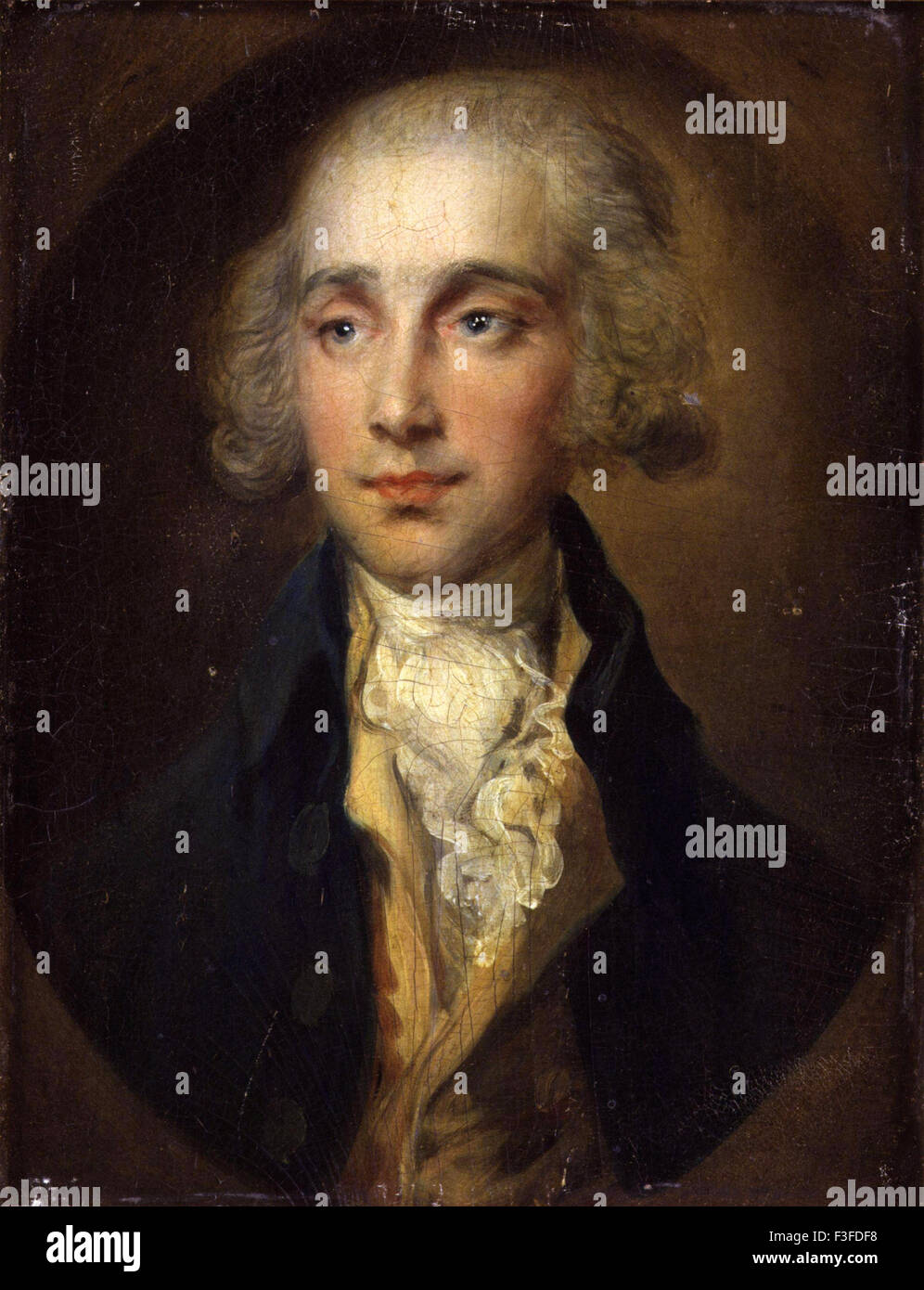 Thomas Gainsboroug - James Maitland, 8th Earl of Lauderdale - Stock Image