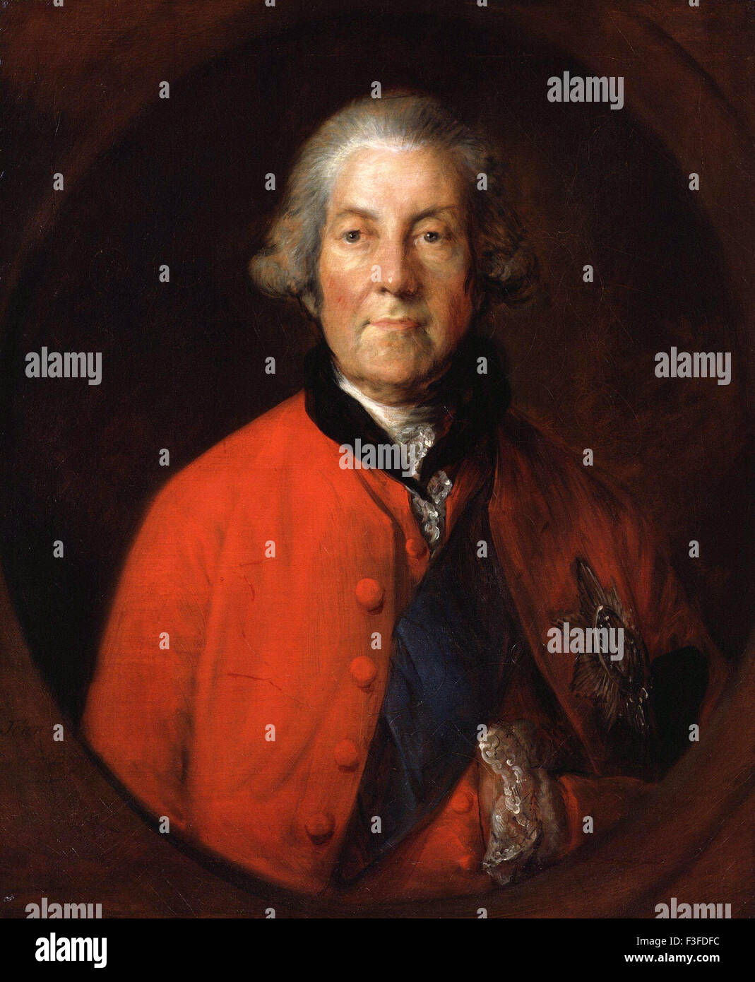 Thomas Gainsboroug - John Russell, 4th Duke of Bedford - Stock Image