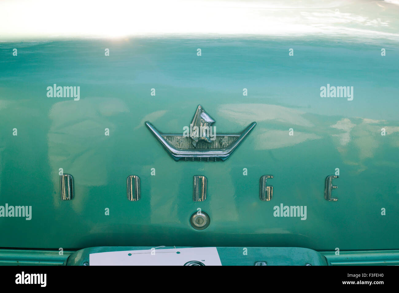 Vintage cars Dodge Custom Royal - Stock Image