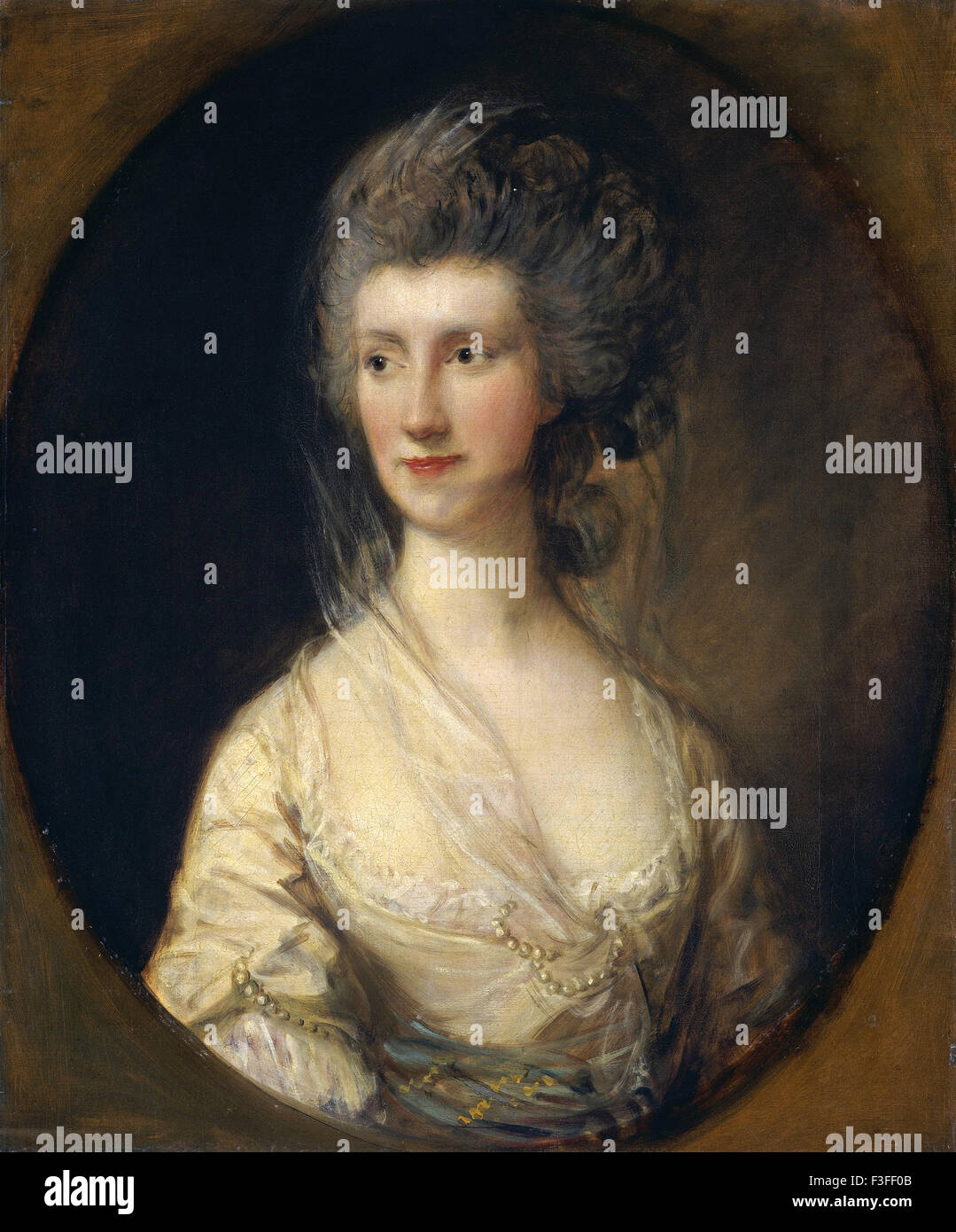 Thomas Gainsboroug - Mrs. John Taylor - Stock Image