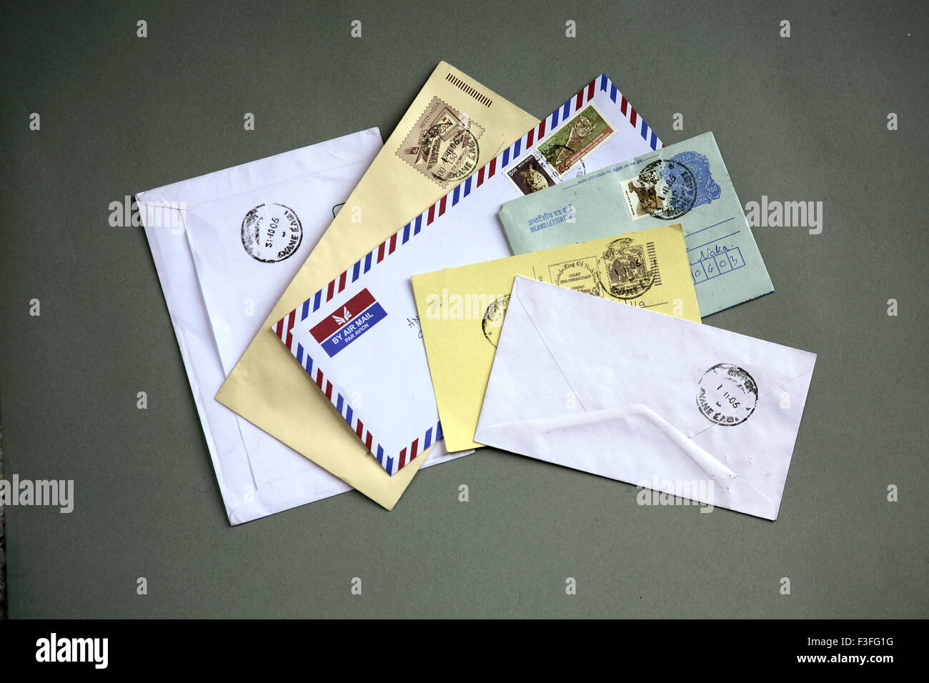 Indian Postage Envelop Inland Letter Airmail Post Card Stock