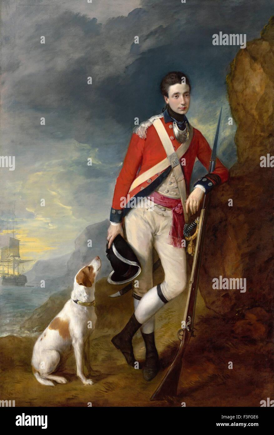 Thomas Gainsboroug - Richard St George Mansergh St George - Stock Image