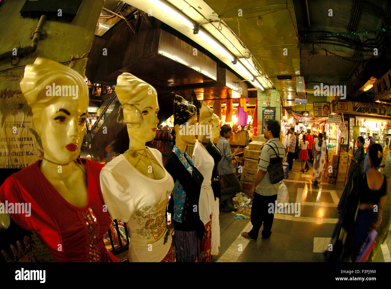 Readymade garments shop ; India - Stock Image