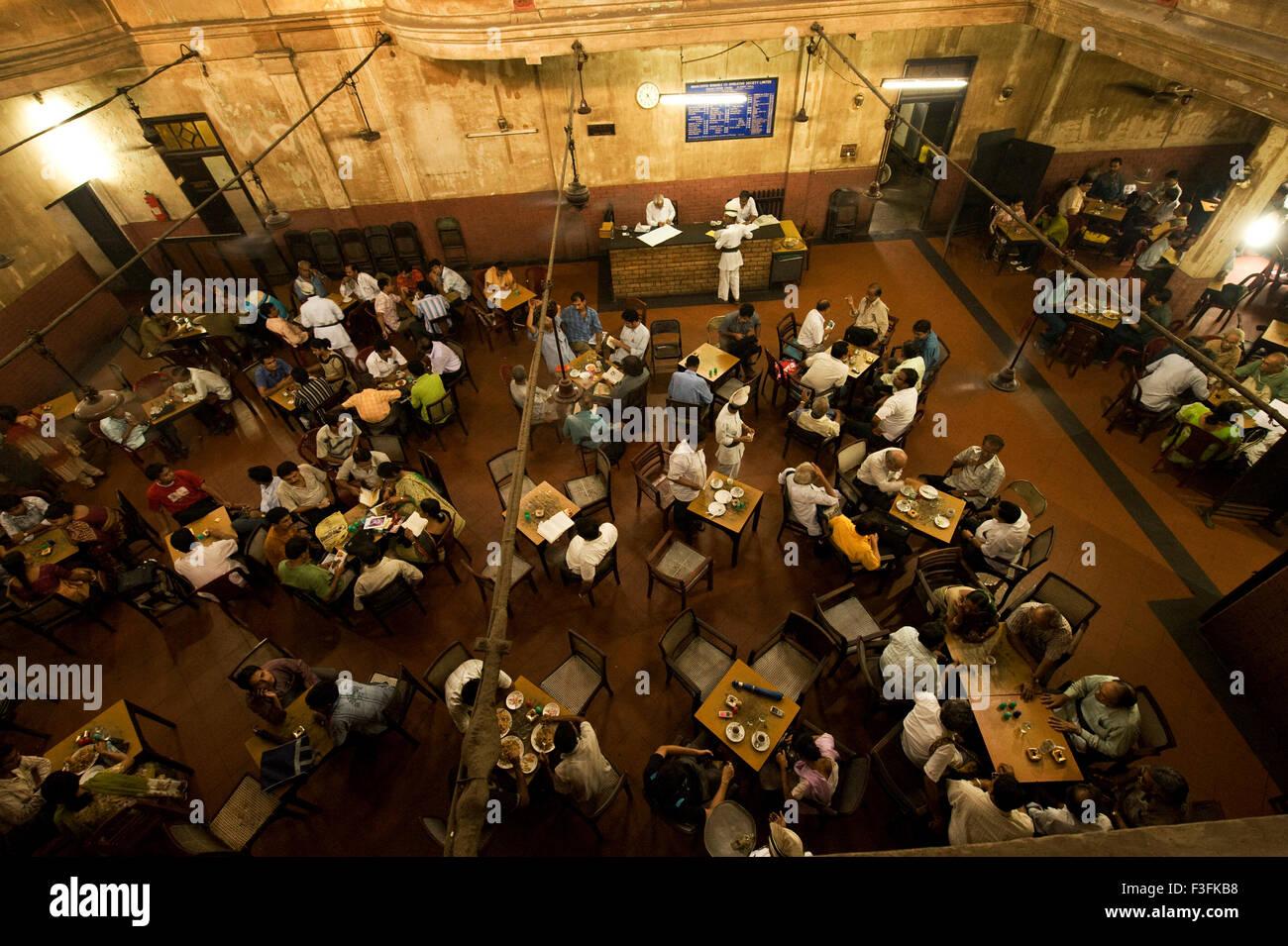 The Indian Coffee House ; College street ; Calcutta Kolkata ; West Bengal ; India - Stock Image