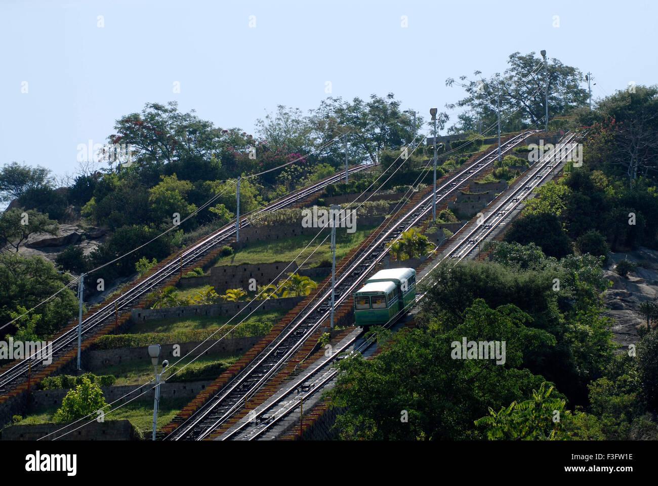Winch in Palani hill ; Tamil Nadu ; India - Stock Image