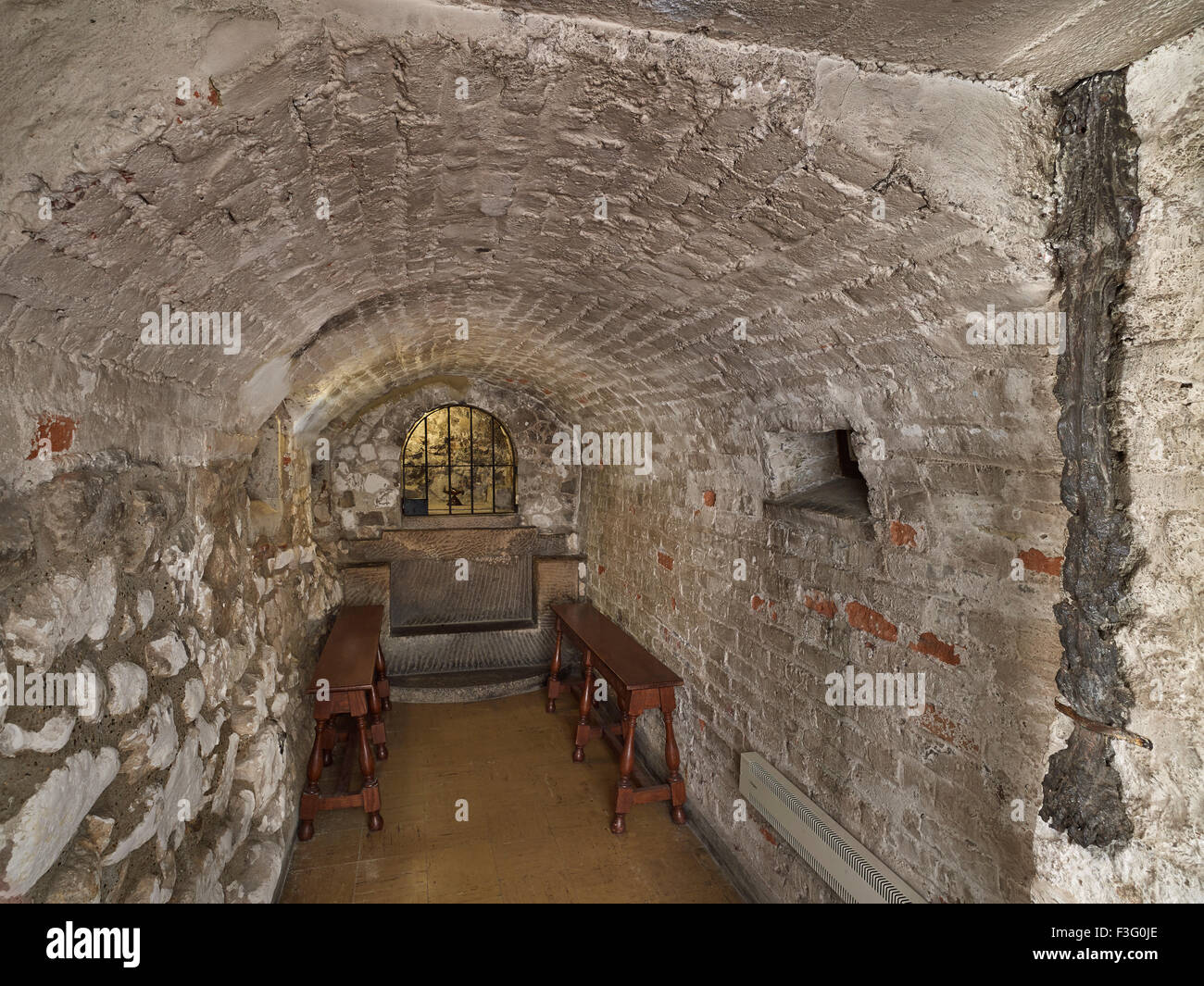 All Hallows by the Tower St Clare - Stock Image